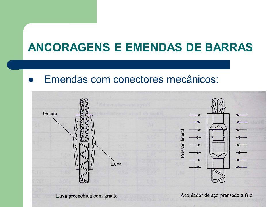 Emendas com conectores mecânicos: