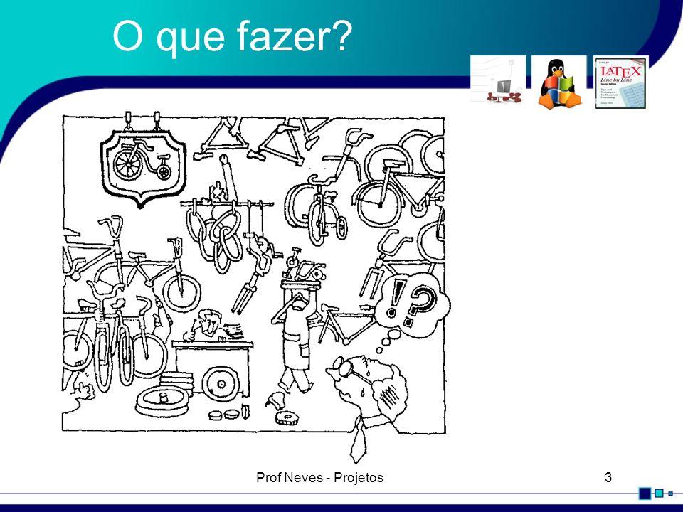 Prof Neves - Projetos3 O que fazer?