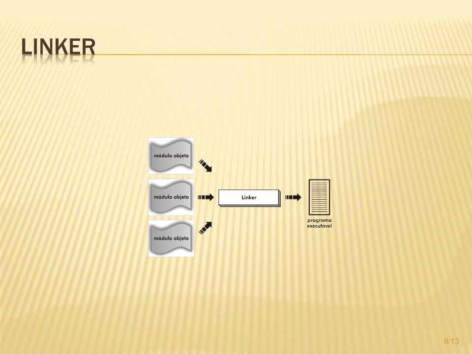 Carregar na memória principal um programa para ser executado Loader absoluto Loader relocável 10/13
