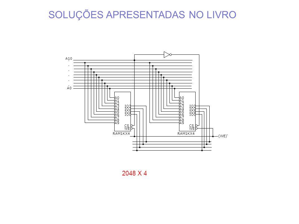 SOLUÇÕES APRESENTADAS NO LIVRO 2048 X 4