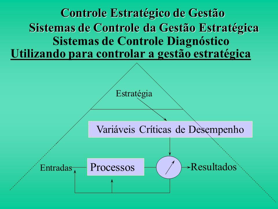 Definição São sistemas de retroalimentação para o controle estratégico de gestão que constituem a espinha dorsal dos sistemas tradicionais de controle
