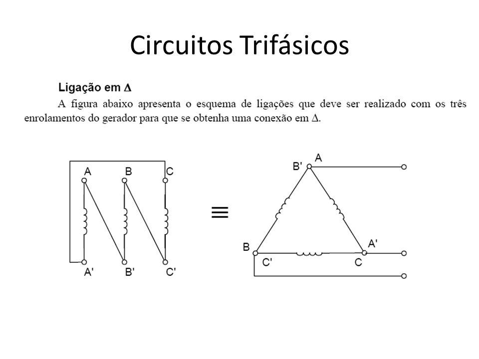 Carga equilibrada ligada em triângulo