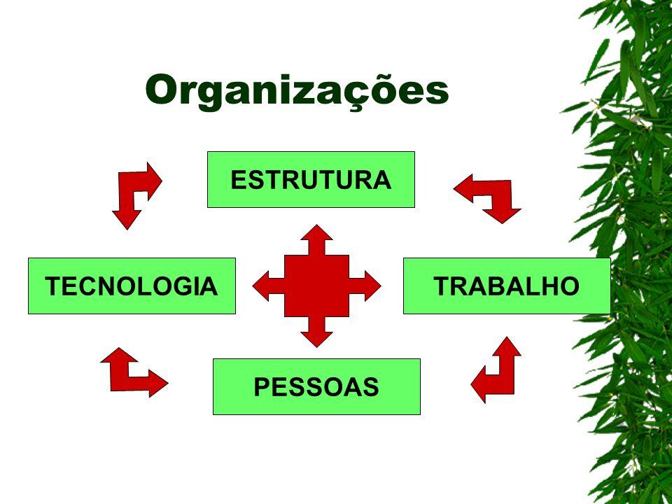 Organizações ESTRUTURA PESSOAS TRABALHOTECNOLOGIA