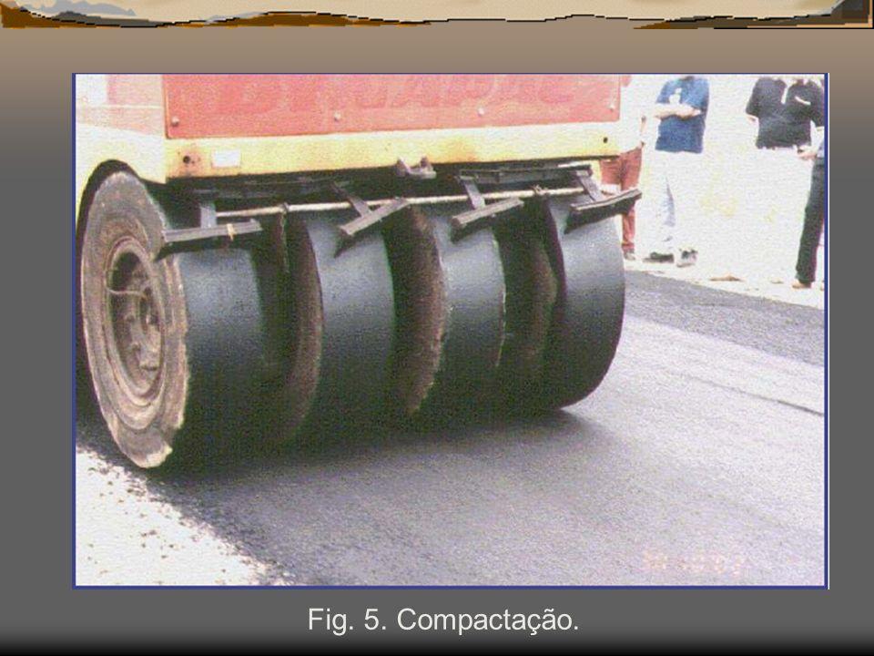 Fig. 5. Compactação.