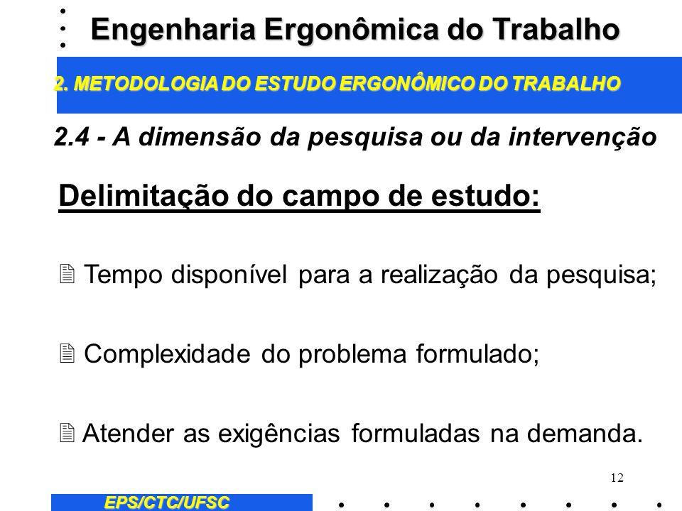 11 A formulação de hipóteses em ergonomia: 2 Hipóteses preliminares; 2 Hipóteses relativas a análise da tarefa; 2 hipótese relativas a análise das ati