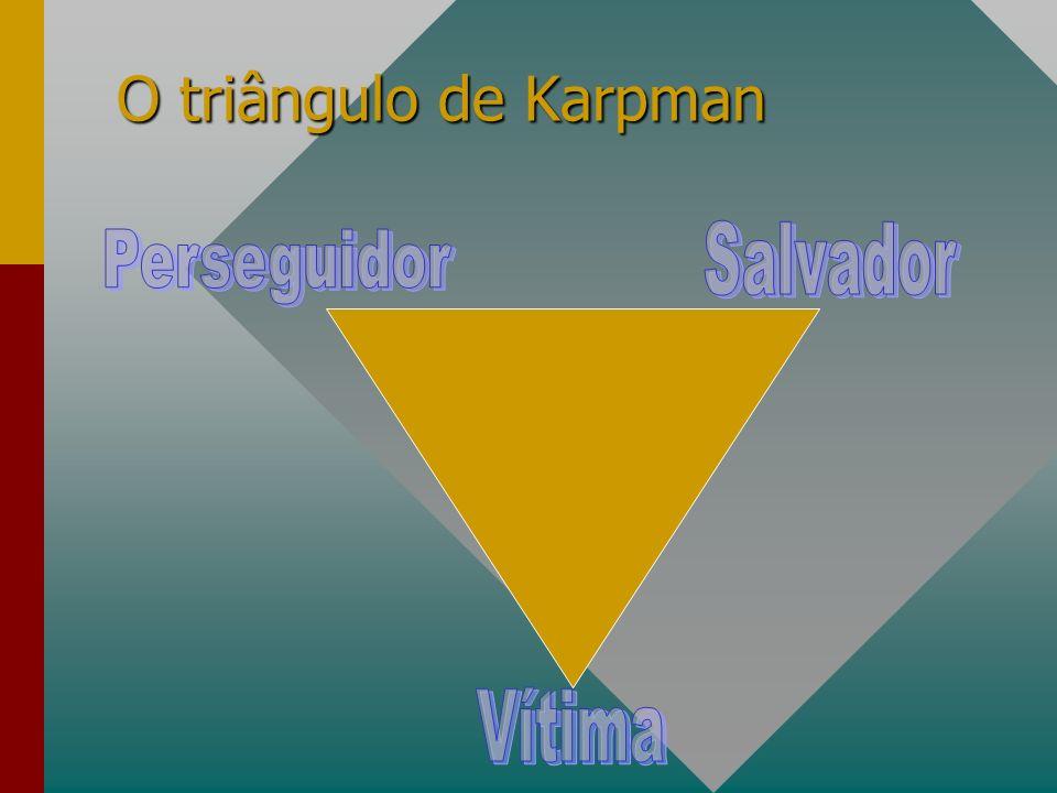 O triângulo de Karpman