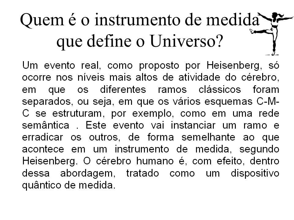 Quem é o instrumento de medida que define o Universo?
