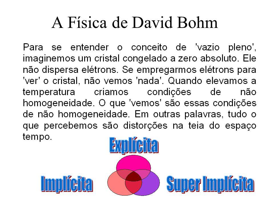 A Física de David Bohm