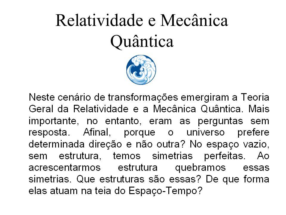 Relatividade e Mecânica Quântica