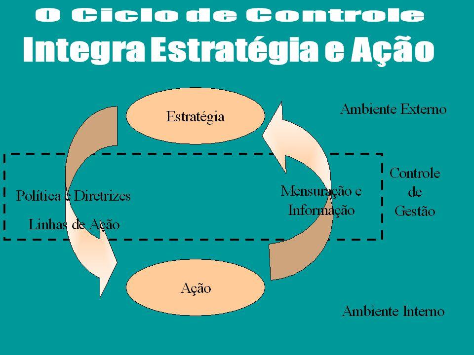O orçamento materializa os planos sob a forma de valor monetário O orçamento permite acompanhar a estratégia, verificar seu grau de êxito e, se necess