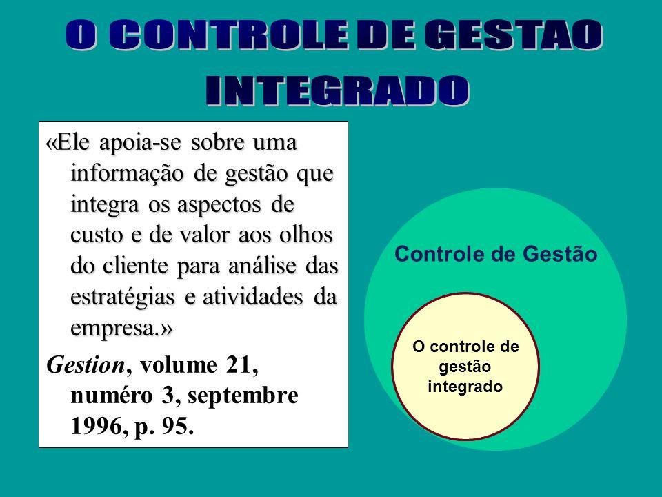 Controle orçamentário Aspecto qualitativo Controle estratégico Aspecto financeiro