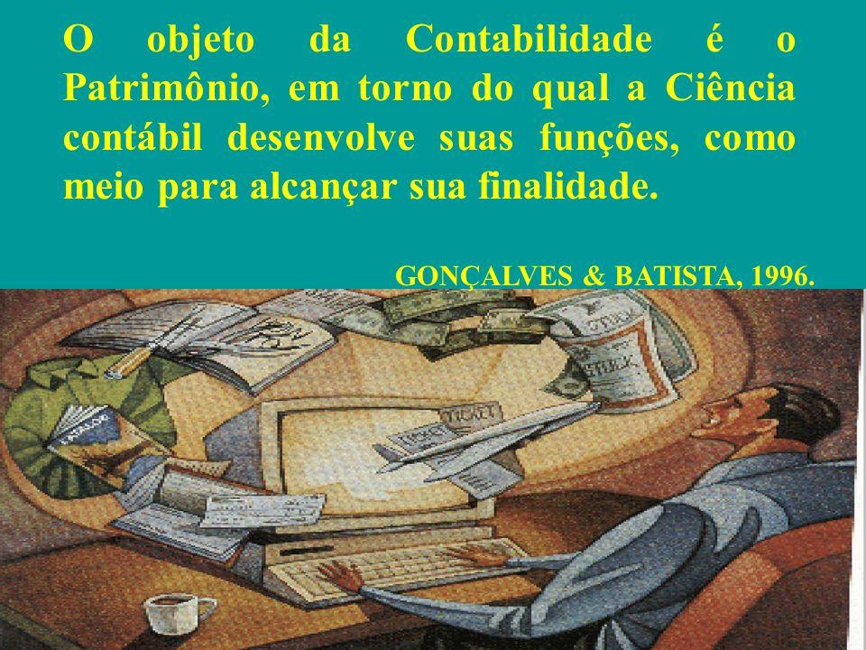A CONTABILIDADE é um sistema de registro e apuração ou medição da riqueza. LEITE, Hélio de Paula, 1988.