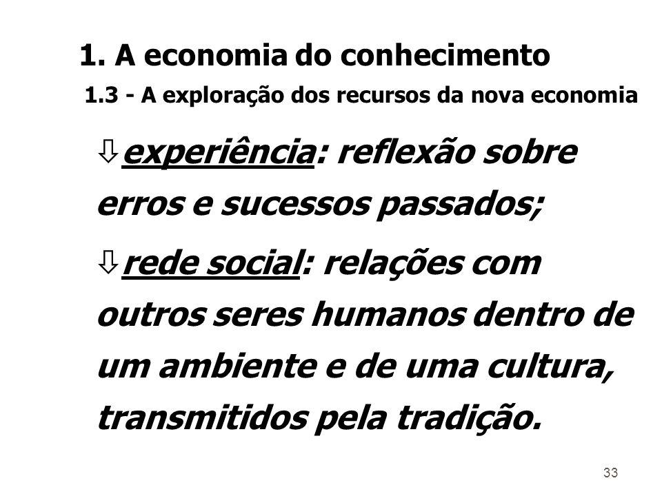 32 A competência consiste de cinco elementos interdependentes: ò conhecimento explícito: educação formal; ò conhecimento tácito: habilidades adquiridas através do treinamento e da prática; 1.