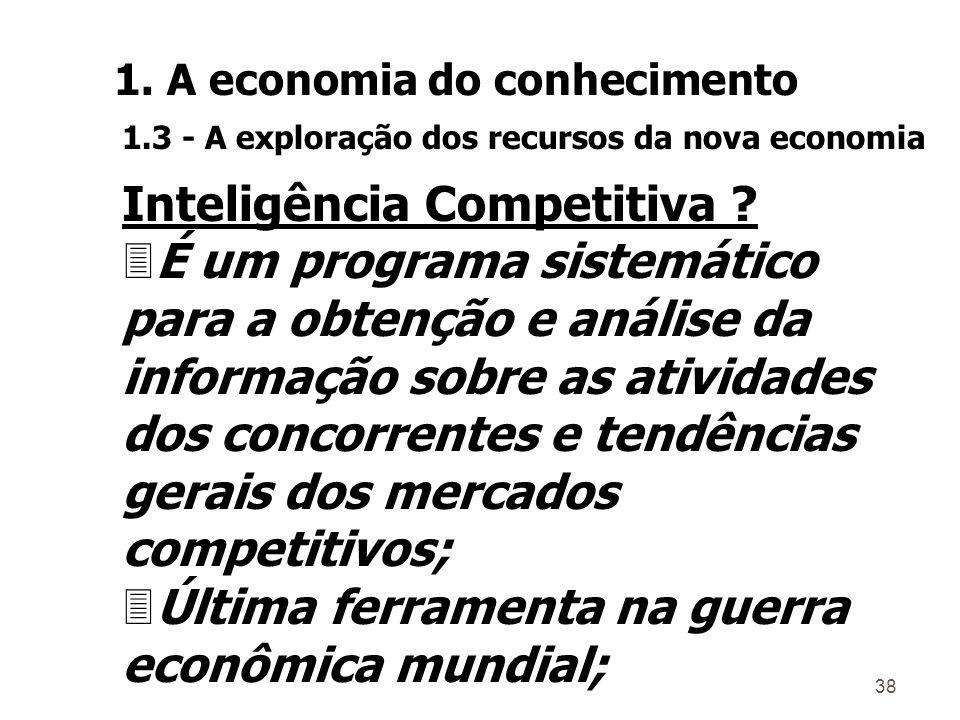 37 Inteligência Econômica .