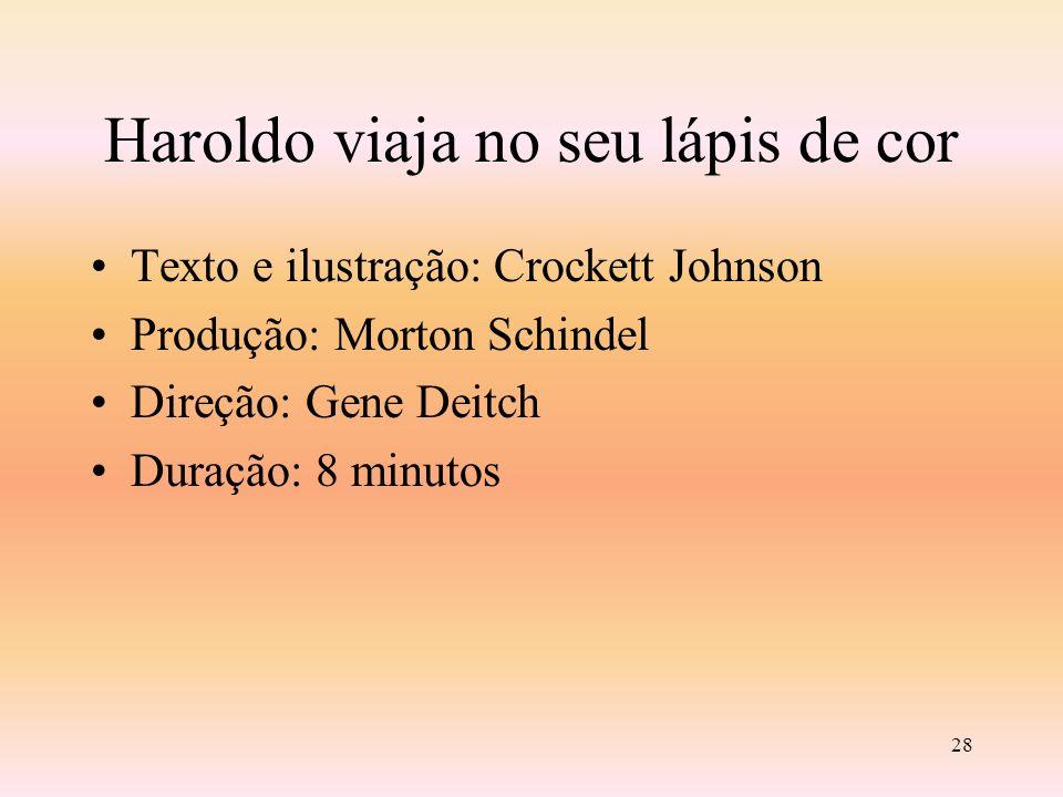 27 HAROLDO VIAJA NO SEU LÁPIS DE COR