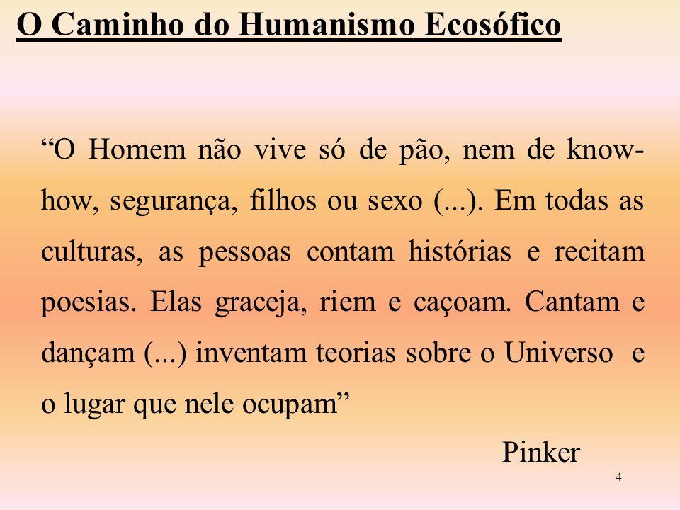 3 O CAMINHO DO HUMANISMO ECOSÓFICO
