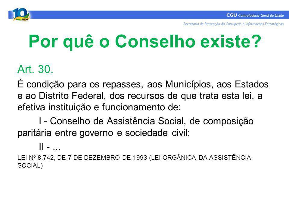 Resolução Nº 237, de 14 de Dezembro de 2006 - CNAS Art.