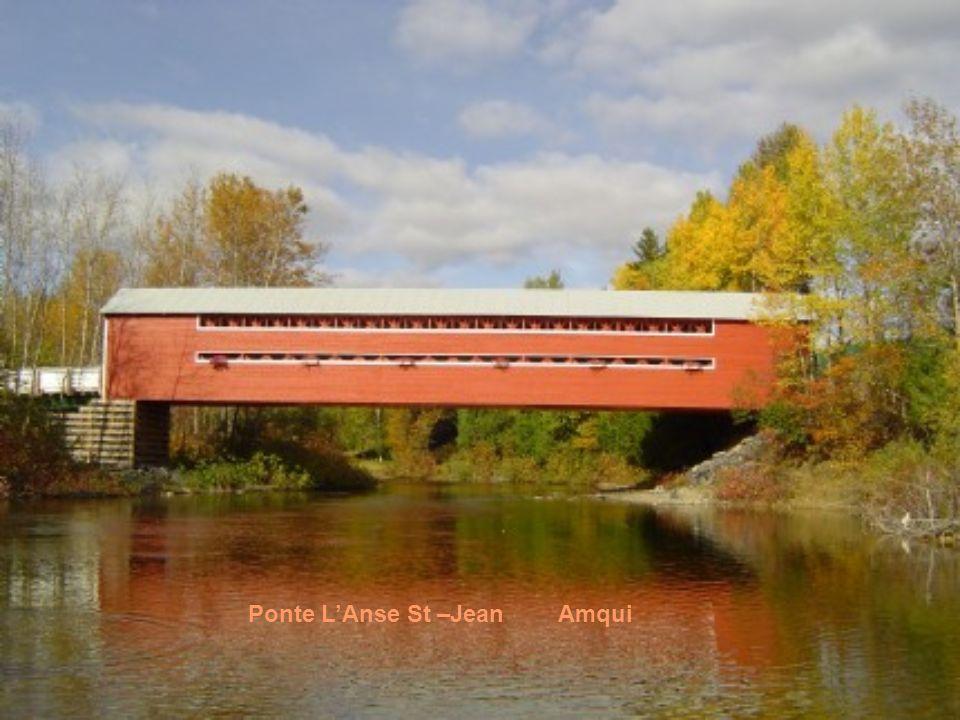 Ponte LAnse St –Jean Amqui