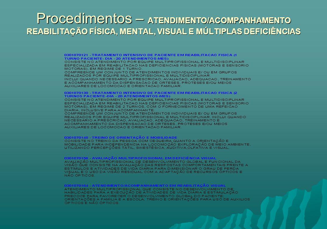 SIGTAP – Sistema de Gerenciamento da Tabela de Procedimentos, Medicamentos e OPM do SUS.