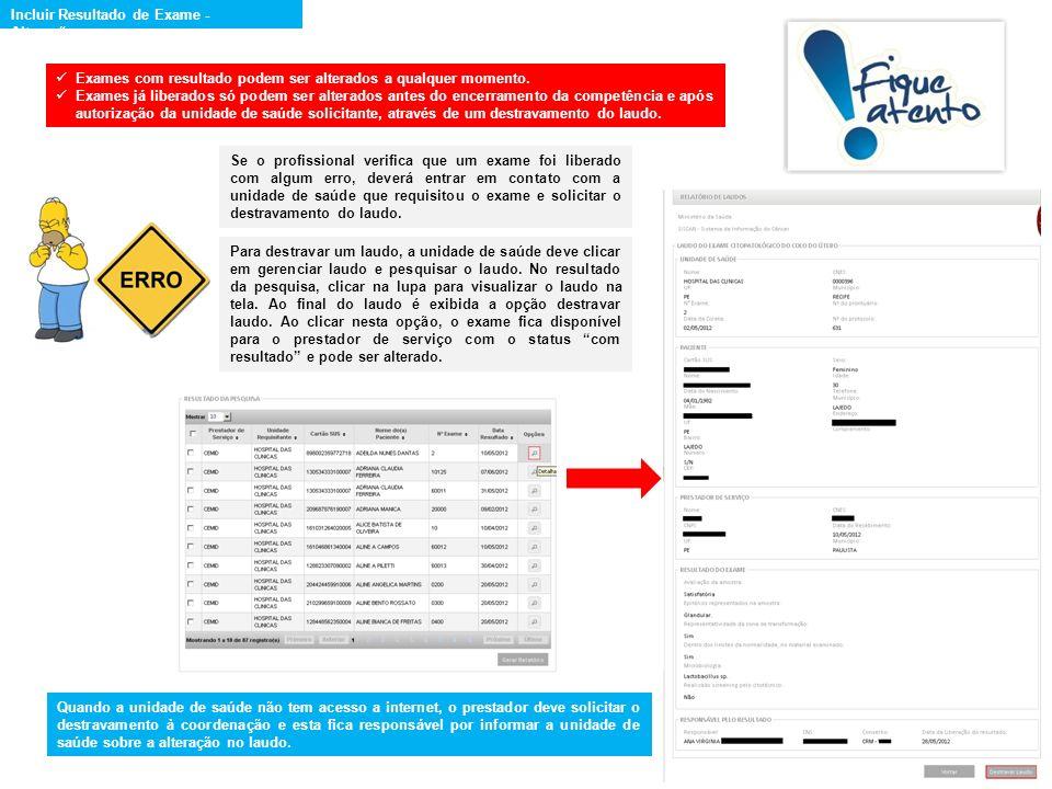 Requisição do exame: selecionar o tipo de exame e o estabelecimento de saúde e clicar na opção avançar.