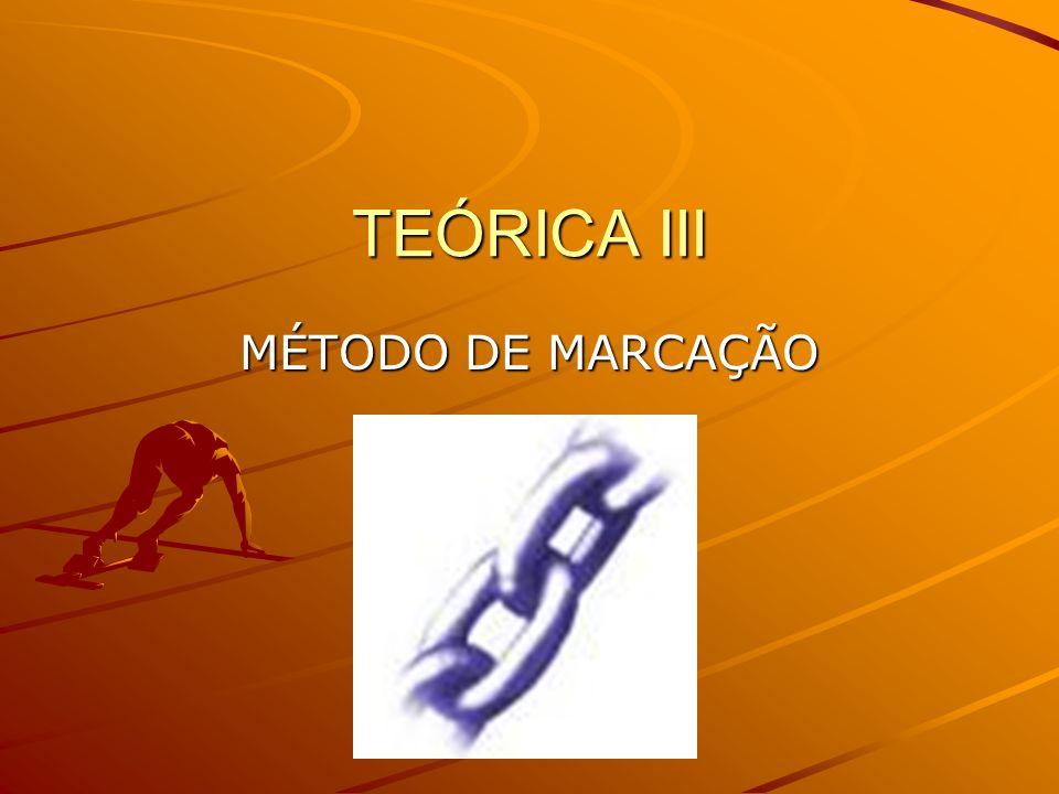 TEÓRICA III MÉTODO DE MARCAÇÃO