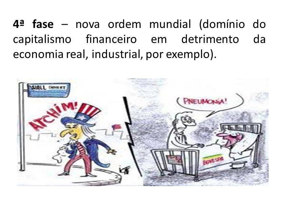 4ª) Estudo da formação dos blocos econômicos regionais.