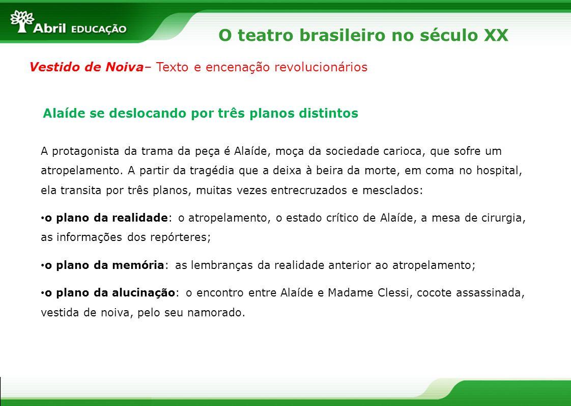 O teatro brasileiro no século XX Auto da Compadecida– O teatro popular revigorado Texto escrito por Ariano Suassuna.