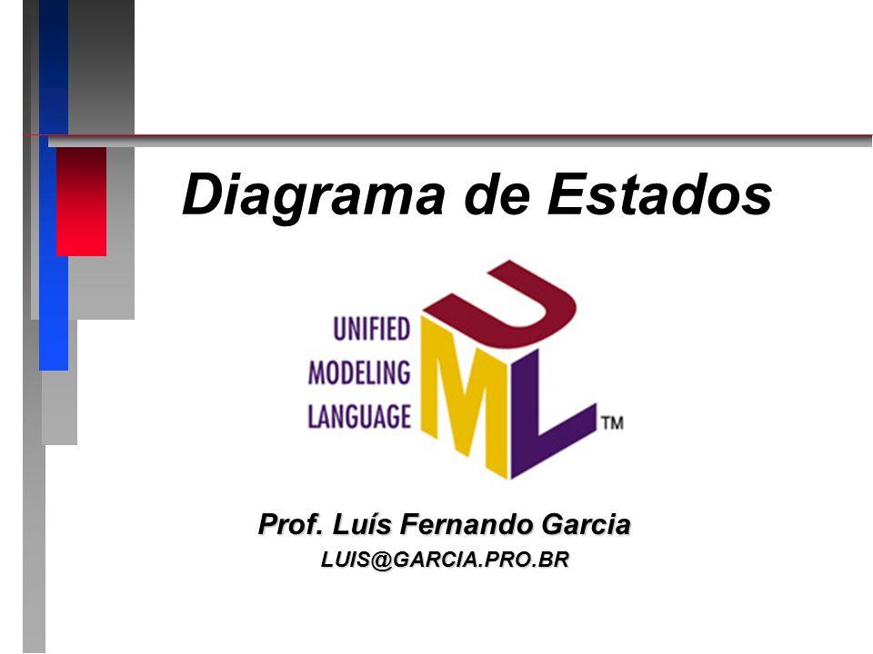 Diagrama de Estados Prof. Luís Fernando Garcia LUIS@GARCIA.PRO.BR
