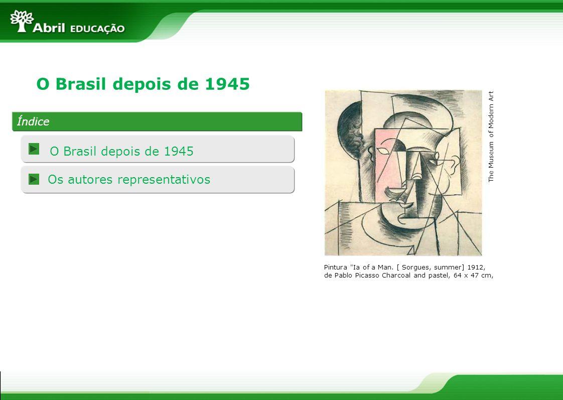 O Brasil depois de 1945 Pós-Modernismo brasileiro Embora o que se costuma chamar de poesia moderna seja uma coisa multiforme demais, não é excessivo querer descobrir nela um denominador comum: seu espírito de pesquisa formal.