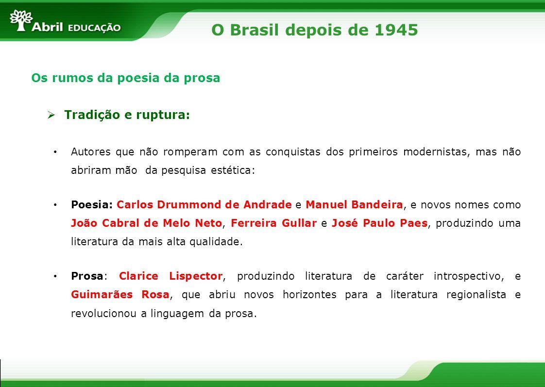 Os autores representativos João Cabral de Melo Neto: a engenharia da palavra João Cabral de Melo Neto (1920-1999).