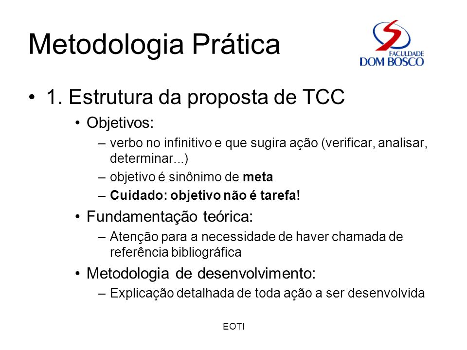 EOTI Metodologia Prática 1.