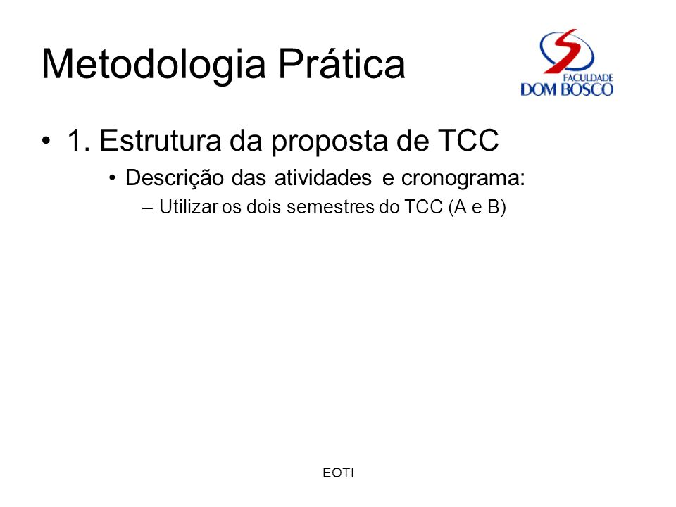 EOTI Metodologia Prática 2.