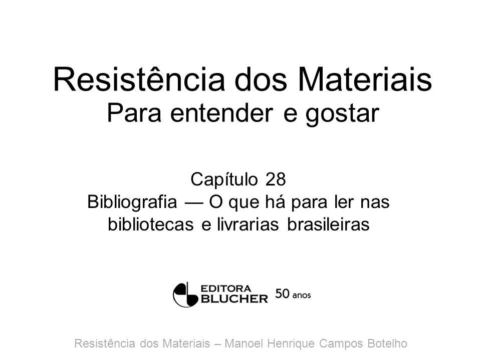 Resistência dos Materiais Para entender e gostar Anexo 1 Composição e decomposição de forças Resistência dos Materiais – Manoel Henrique Campos Botelho