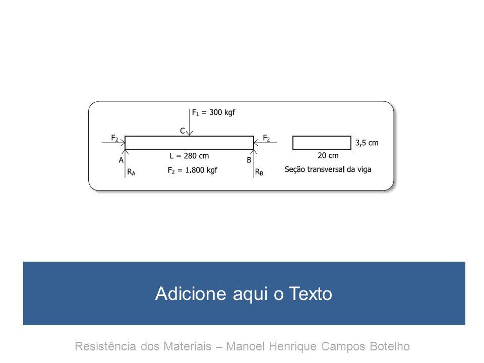 Resistência dos Materiais Para entender e gostar Capítulo 19 Ligando duas peças Cálculo de rebites e soldas Resistência dos Materiais – Manoel Henrique Campos Botelho