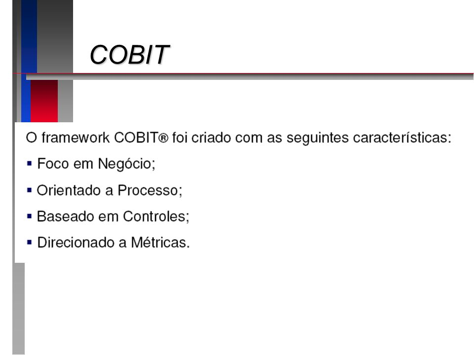 COBIT COBIT