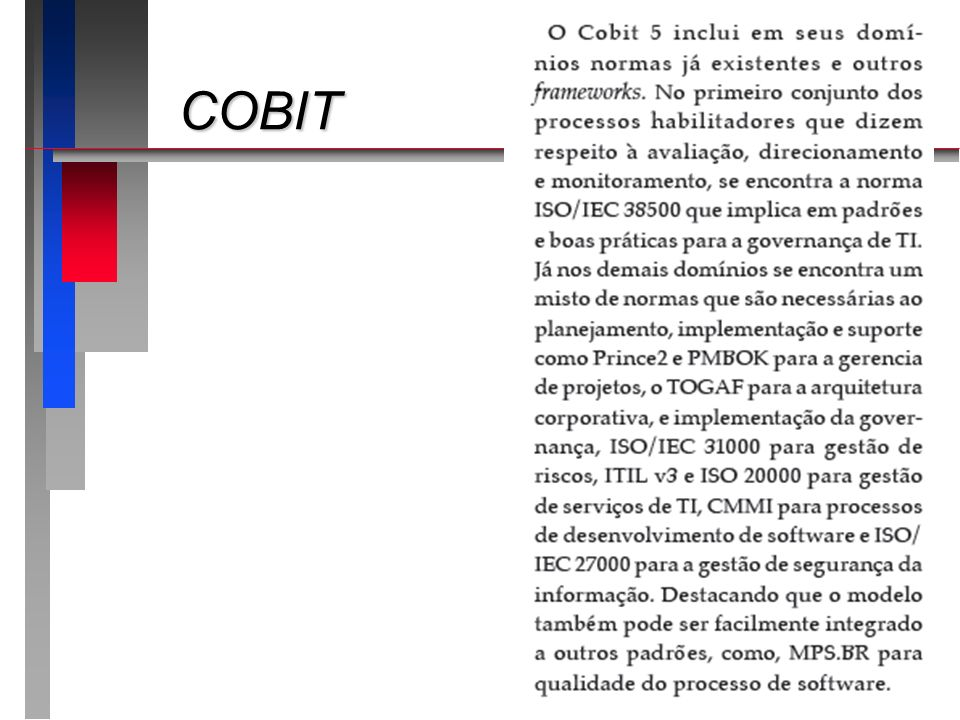 COBIT www.isaca.org.br