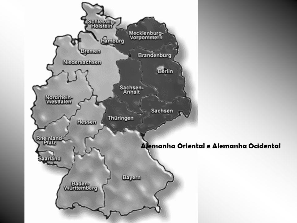 Alemanha Oriental e Alemanha Ocidental
