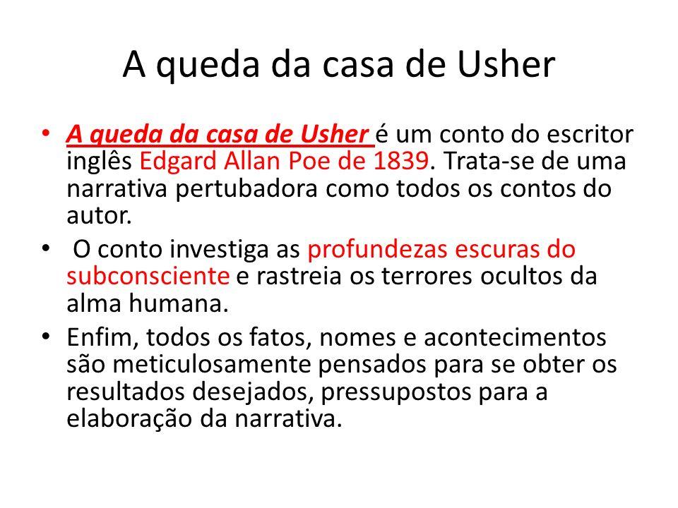 Resultado de imagem para edgar allan poe A Queda da Casa de Usher