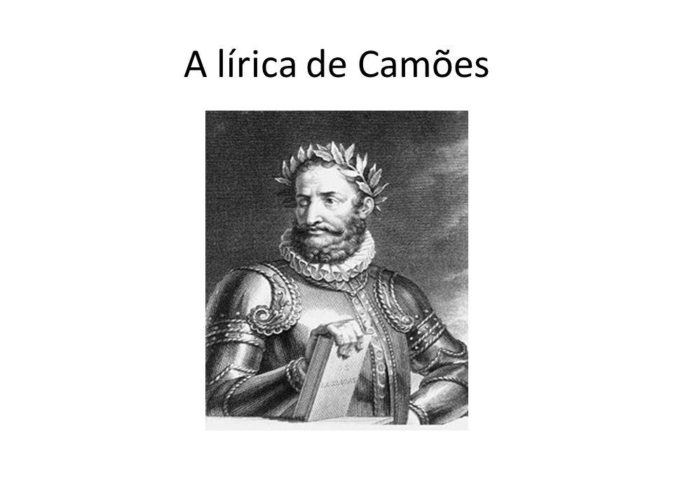 A lírica de Camões