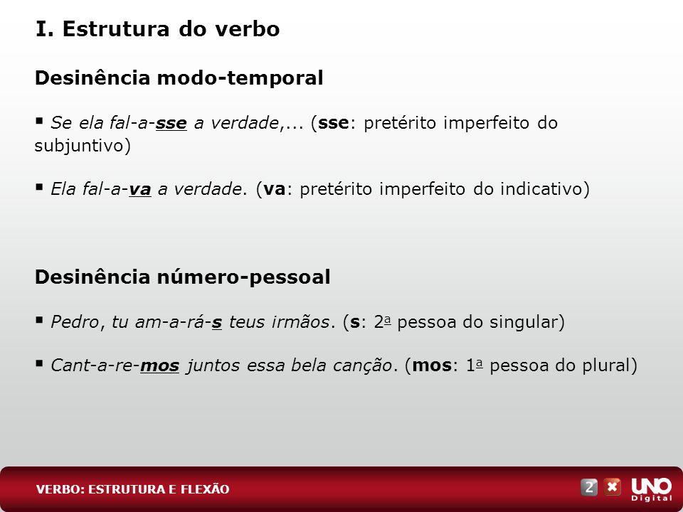 4 EXERC Í CIOS ESSENCIAIS RESPOSTA: Os verbos na 2 a pessoa do singular do modo imperativo são: não faças, penetra, chega e contempla.