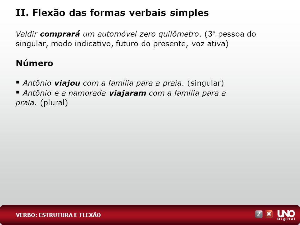 12 EXERC Í CIOS ESSENCIAIS RESPOSTA: A (Uerj) Alguns tempos do modo indicativo podem ser utilizados com valor imperativo.