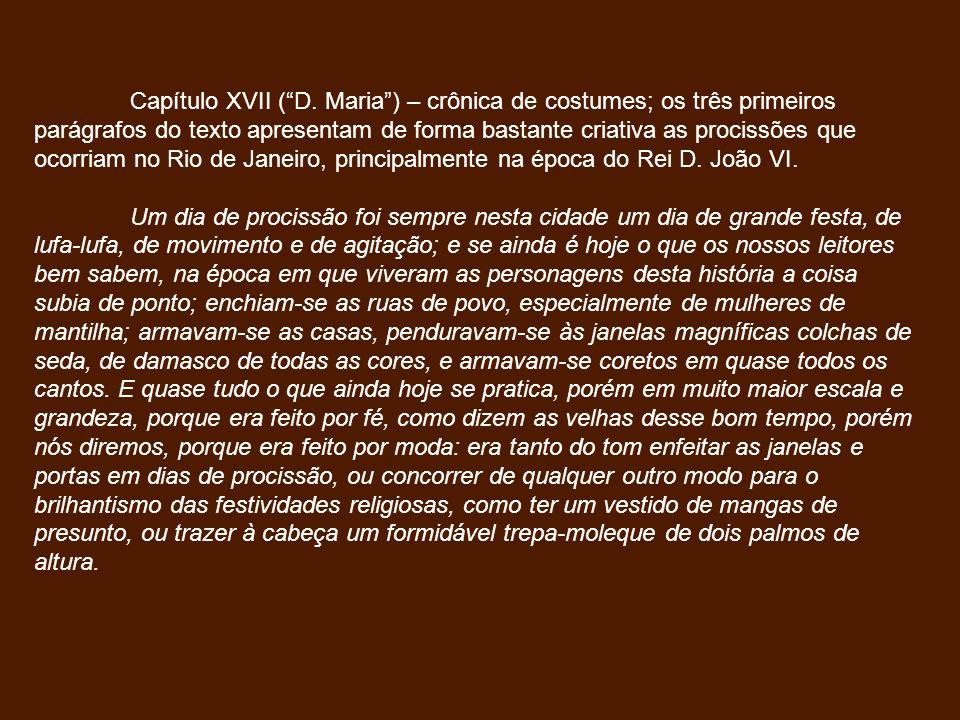 Capítulo XVII (D.