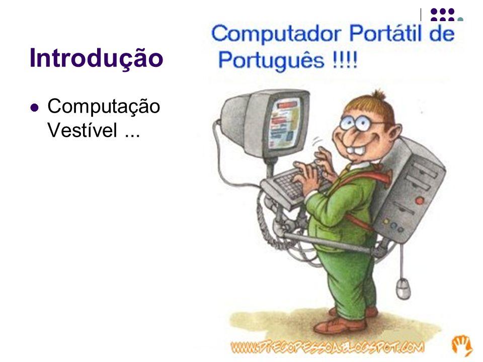 Introdução Computação Vestível...