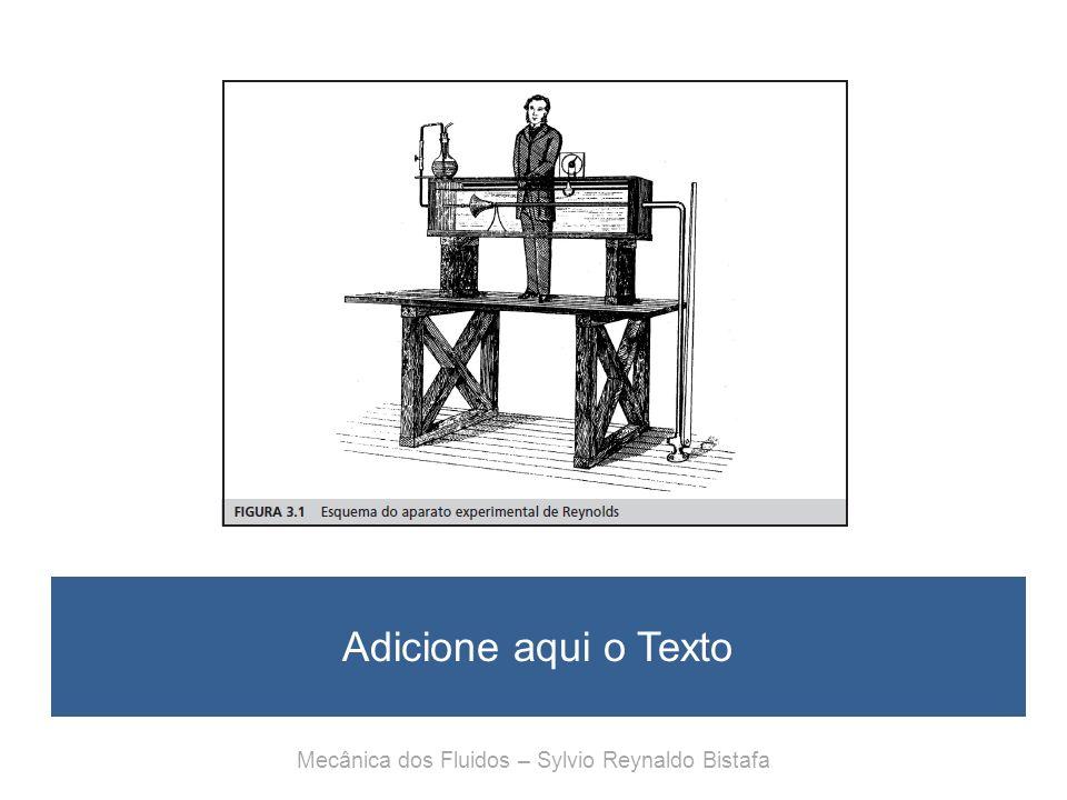 Adicione aqui o Texto Mecânica dos Fluidos – Sylvio Reynaldo Bistafa