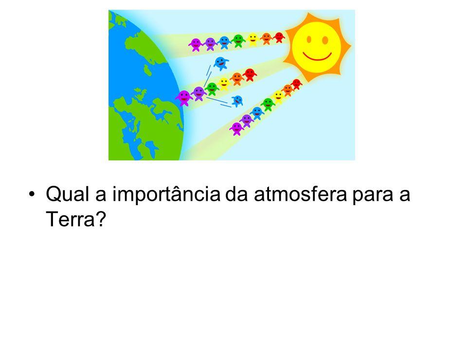 O ar é composto de vários gases.