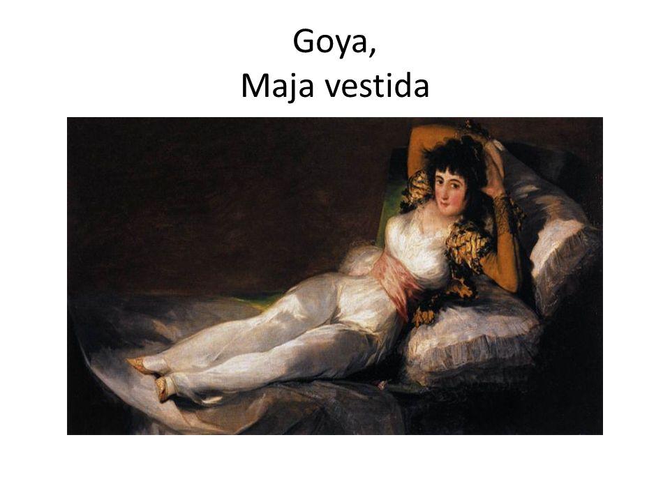 Goya, Maja vestida