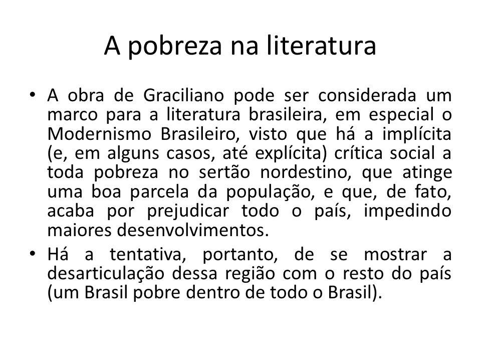 A pobreza na literatura A obra de Graciliano pode ser considerada um marco para a literatura brasileira, em especial o Modernismo Brasileiro, visto qu