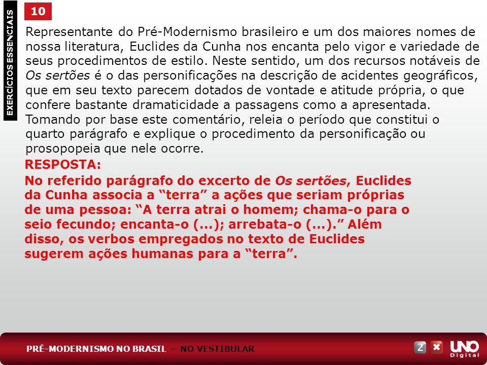 Representante do Pré-Modernismo brasileiro e um dos maiores nomes de nossa literatura, Euclides da Cunha nos encanta pelo vigor e variedade de seus pr