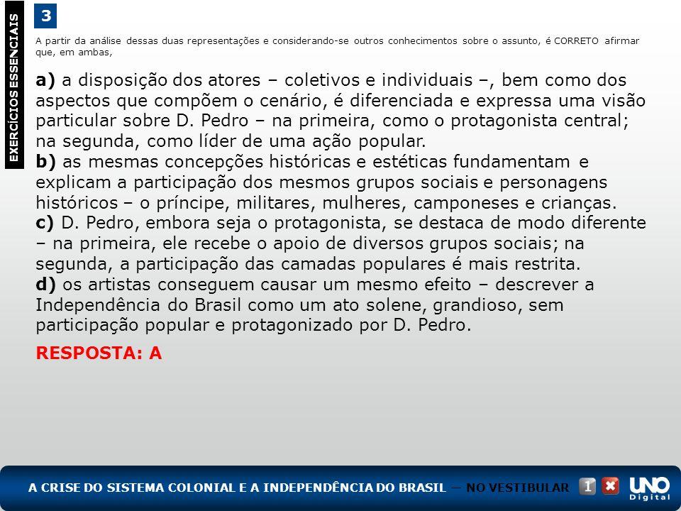 (UFPE, adaptado) A história política de Pernambuco foi marcada por rebeliões, tanto contra as opressões do sistema colonial, representado pelo governo português, quanto contra o centralismo político pós-1822.