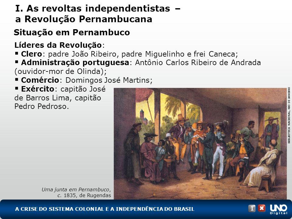 Em 6 de março de 1817 a conspiração é denunciada: Exército reprime o setor militar da revolta, mas a resistência faz triunfar o movimento.